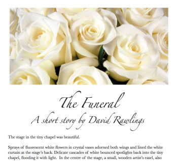 Short story - The Funeral (screenshot - cropped)